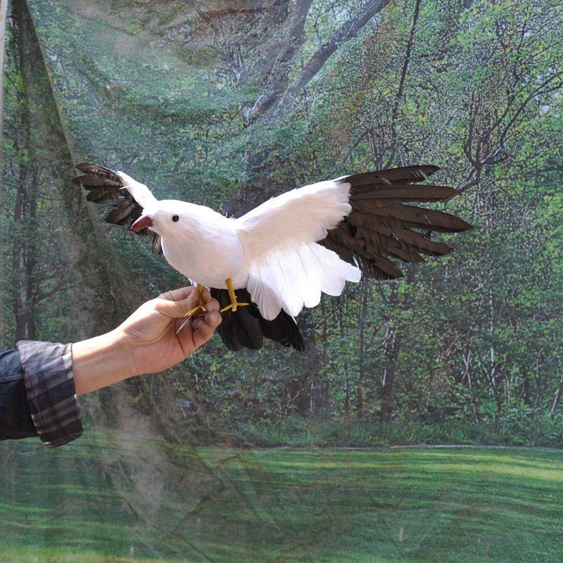 Artificial Birds Simulation Ornaments Feathered Fake Birds Home Decor Eagle