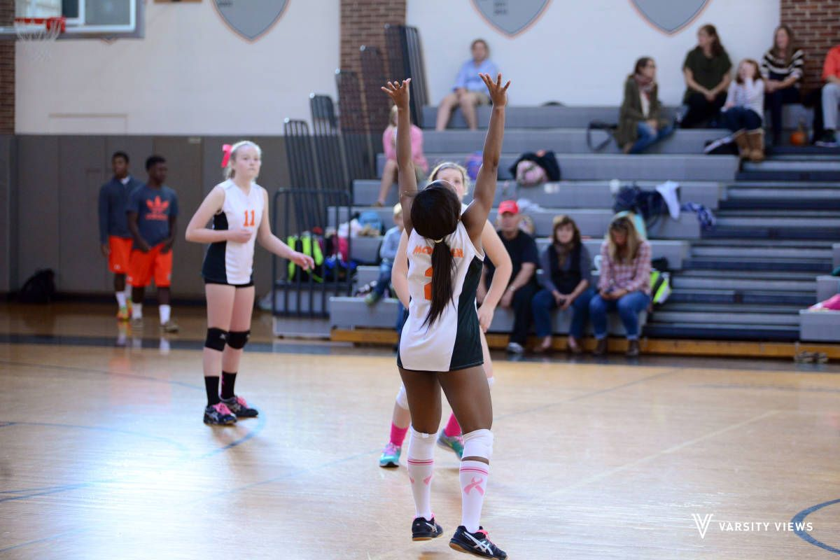 Check Out The Mcdonogh Vs Maryvale Prep Photo Volleyball Prepping Basketball Court