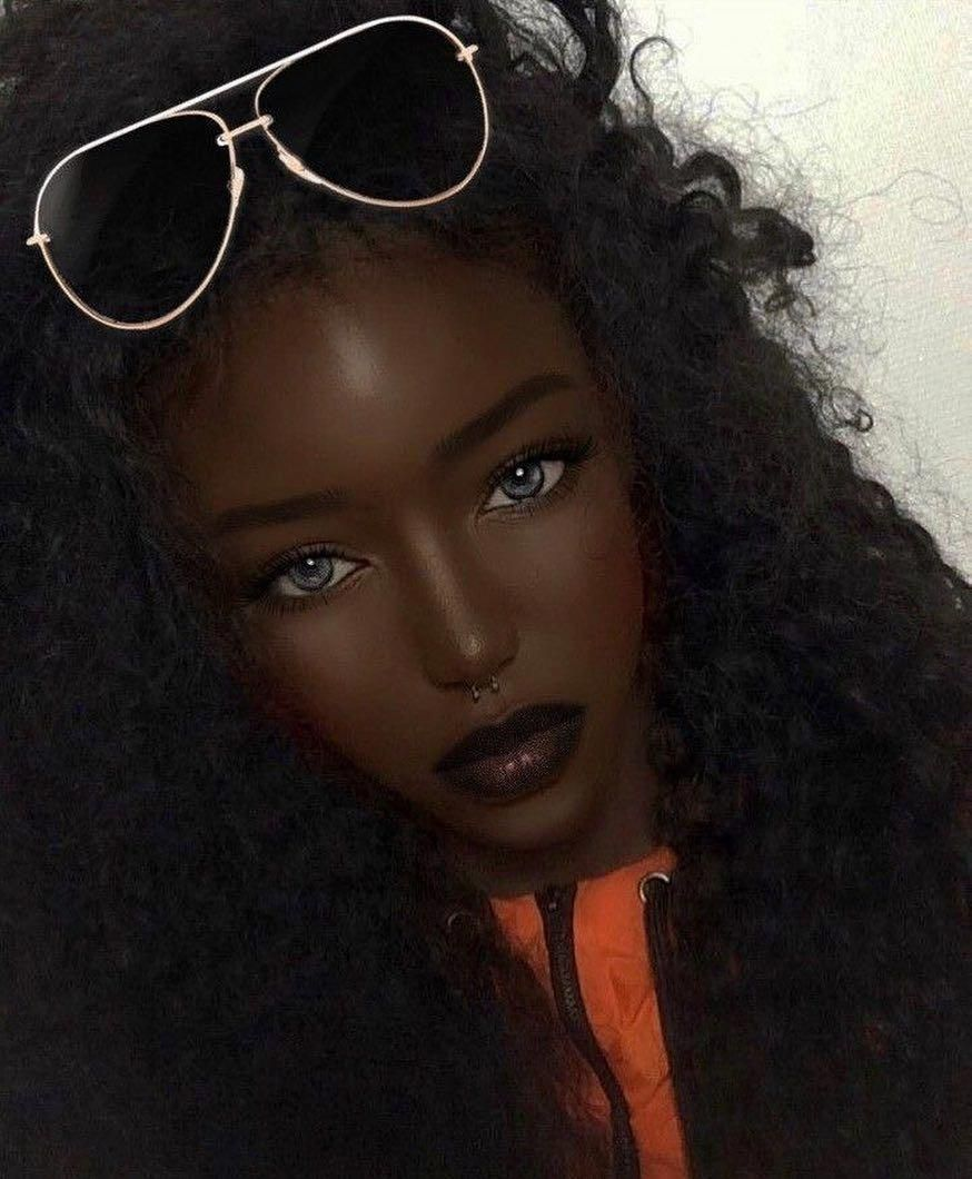 black women's makeup in the 1920s BlackwomensMakeupProm