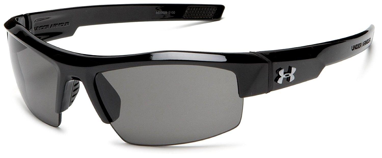 34af1484d814e Unisex UA Igniter - Shiny Black Frame Gray Lens - CG114H6VT5F-Women s  Sunglasses, Sport