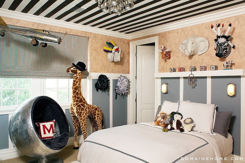 We Can T Get Enough Of Mason And Penelope Disick S Adorable Rooms Kourtney Kardashian House Inside Celebrity Homes Big Boy Room
