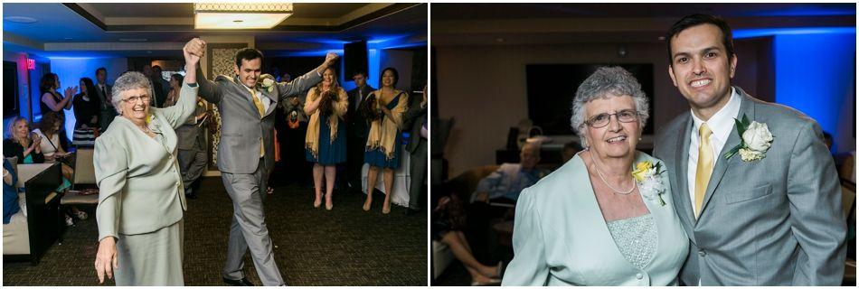 Kehaulani and Ian's Blustery Oceanaire Wedding | Virginia Beach