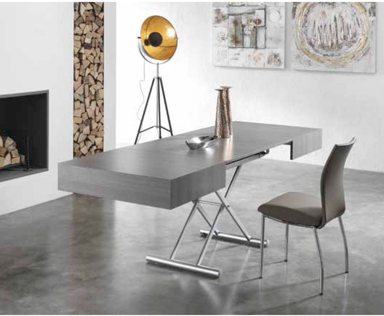 Italian dining extendible coffee and dining table Pro available