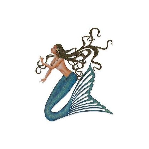 Novica Artisan Crafted Steel Mermaid Wall Decor From Mexico 145 Liked On Polyvore Featuring Home Home Mermaid Wall Art Mexican Wall Art Mermaid Painting