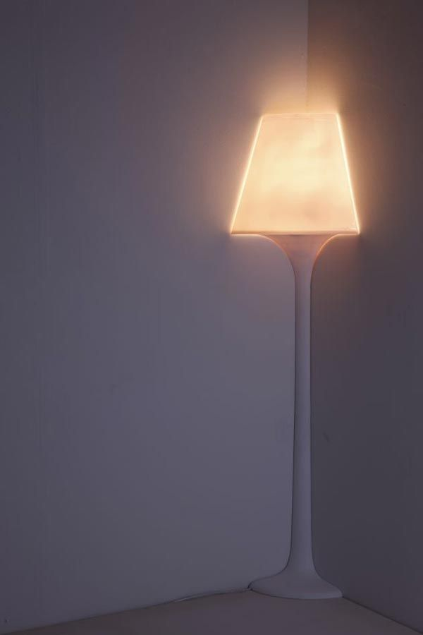 Created By Korean Designer Ji Young Shon The Stand 1/4 Lights Come In Floor  · Corner LampThe ...