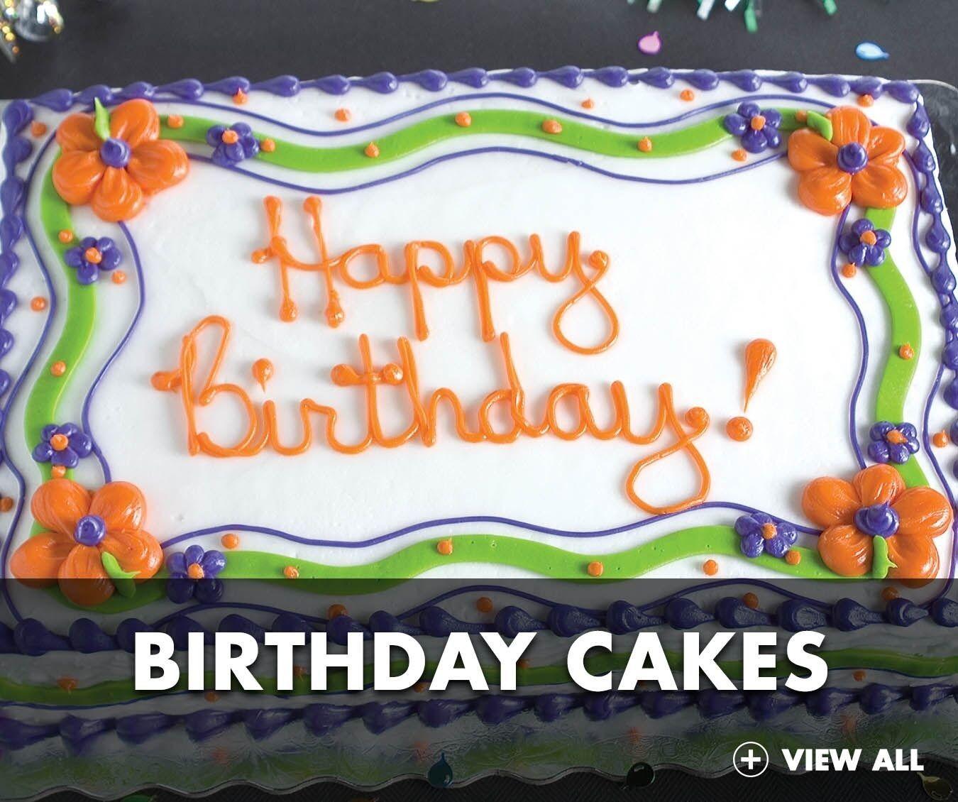 Food lion birthday cake designs di 2020