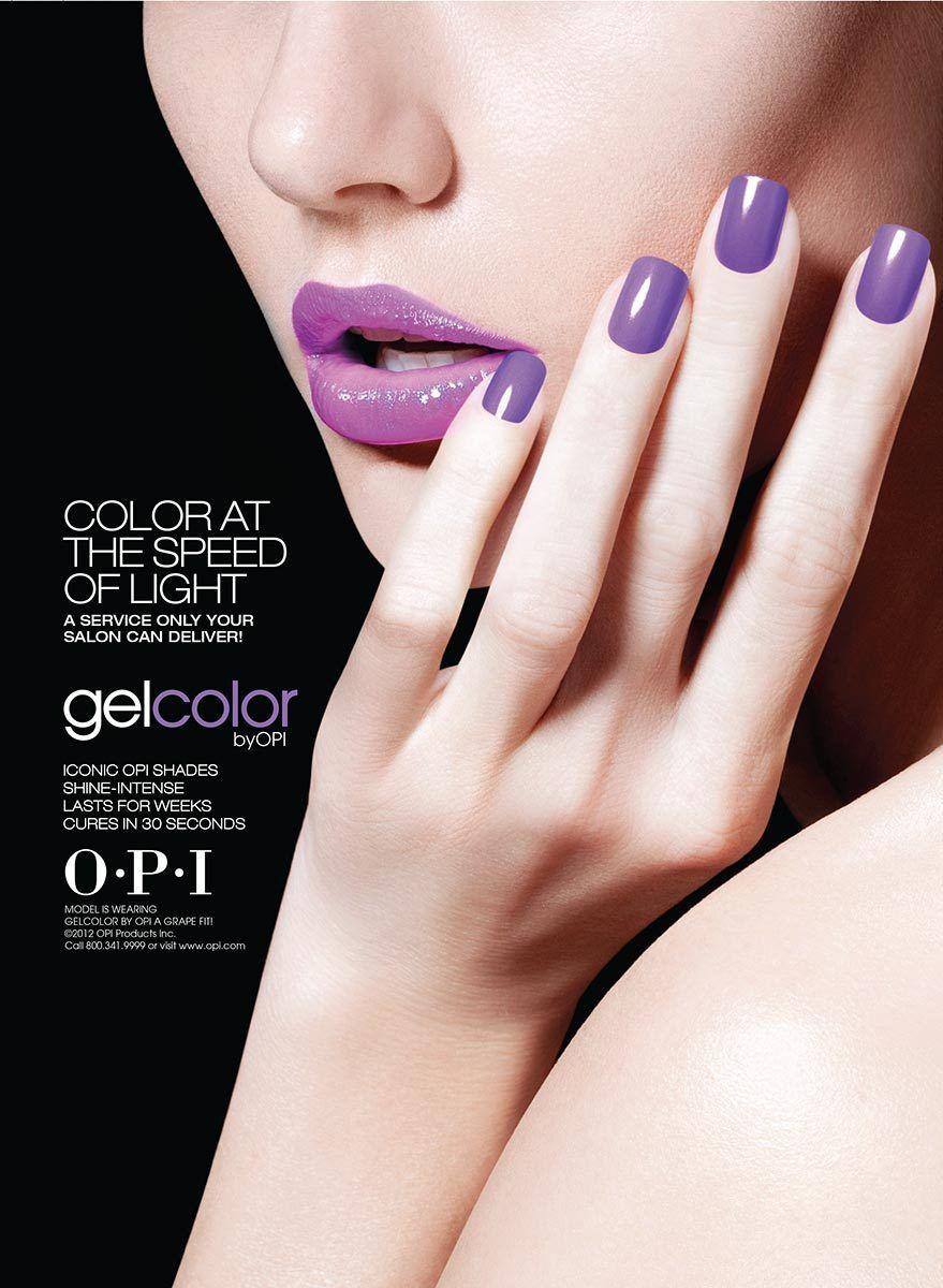 OPI - Gel Color Photographer: Miranda Penn Turin www.opusreps.com