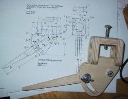 Homemade Gouge Grinding Jig Woodturning Pinterest Homemade Wood