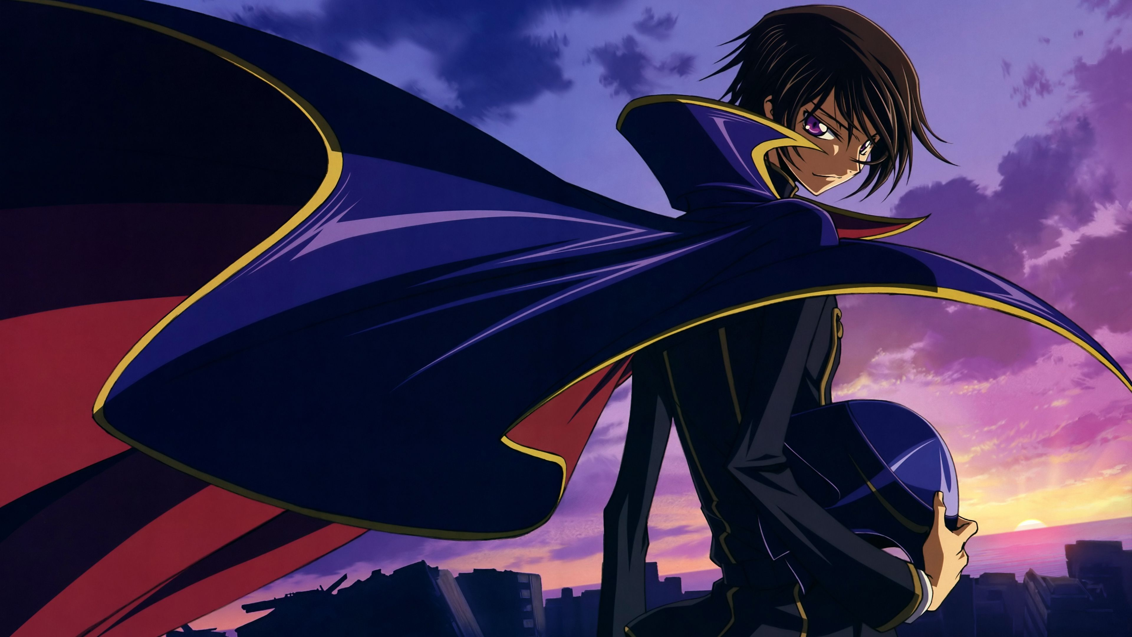 Lelouch Lamperouge (aka Zero)from Code Geass HD Wallpaper From Gallsource.com | Anime wallpaper ...