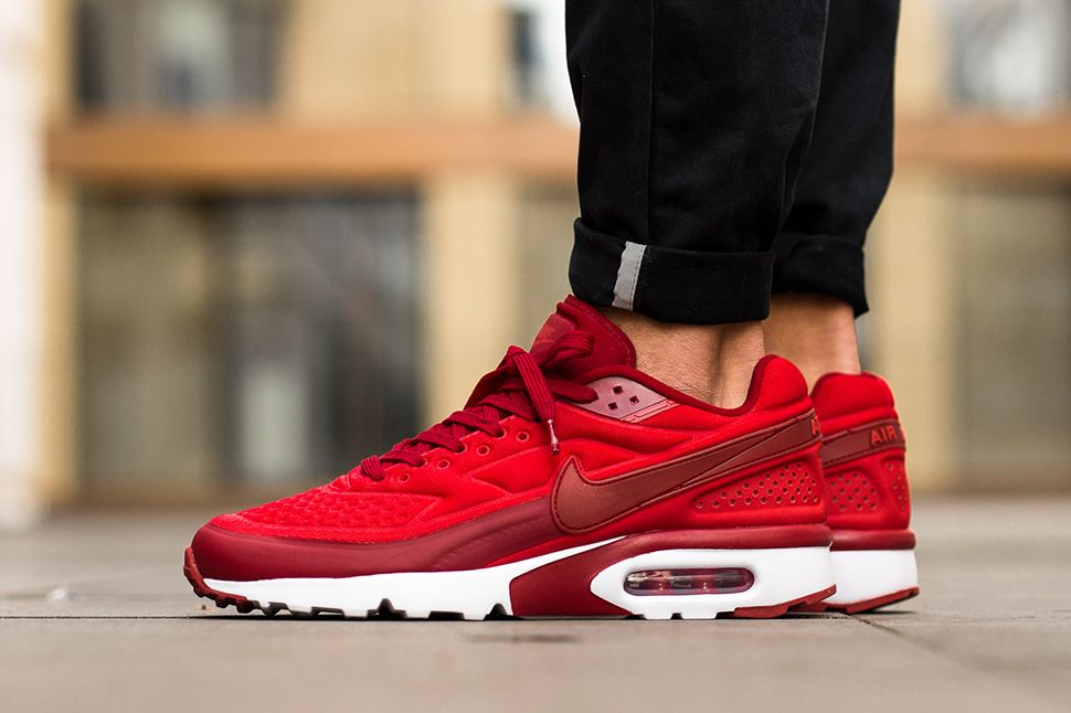 Nike Sportswear AIR MAX BW ULTRA SE - Trainers - action red/gym red/white Men Low-top Trainers adidas usa basketball backpackgreat deals