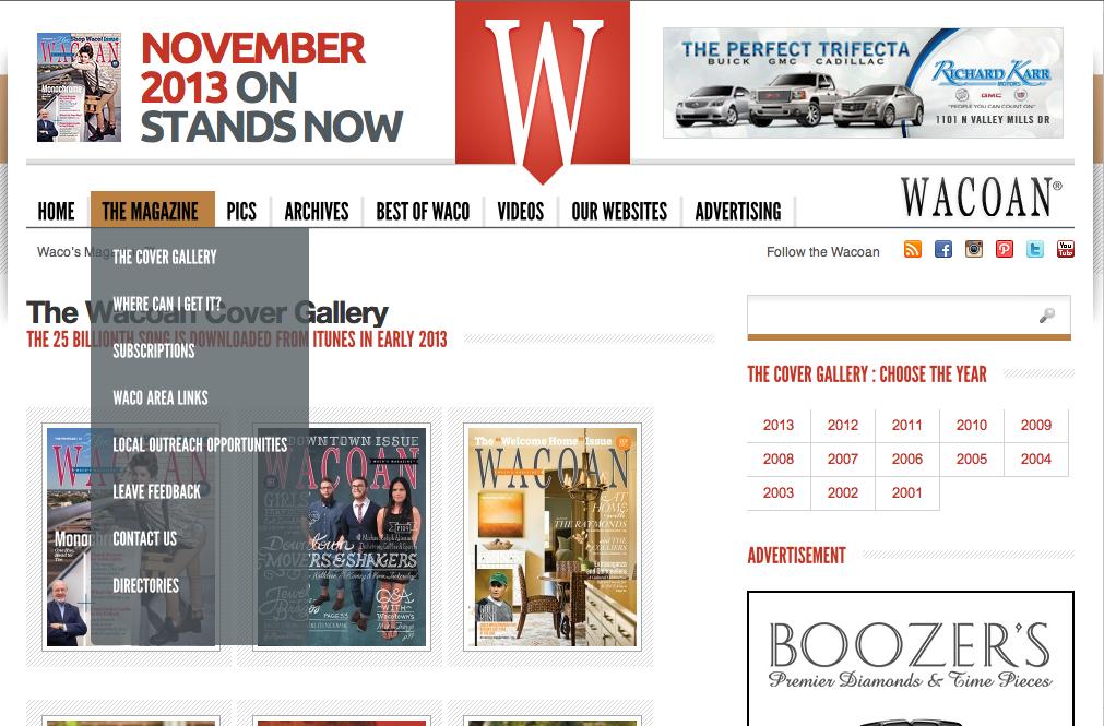 I Love The Transparent Drop Down Menu Web Design Shop Signs