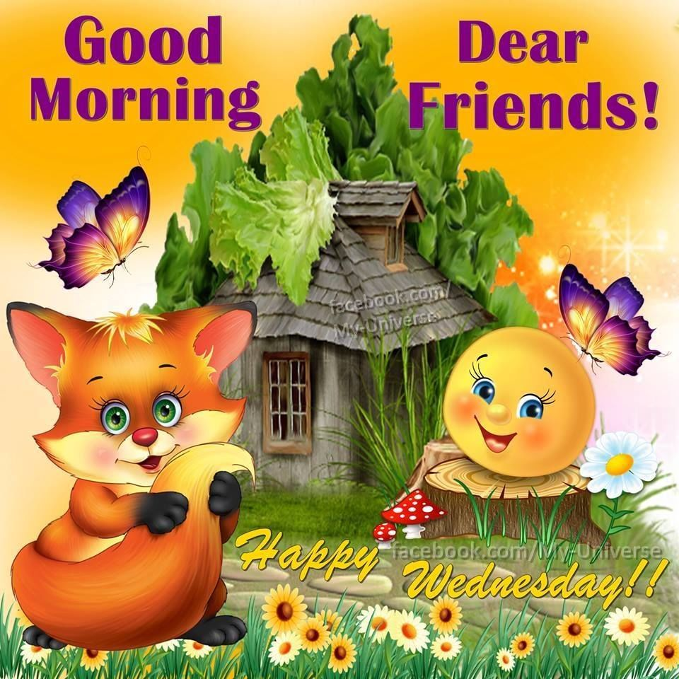 Good Morning Dear Friends Happy Wednesday