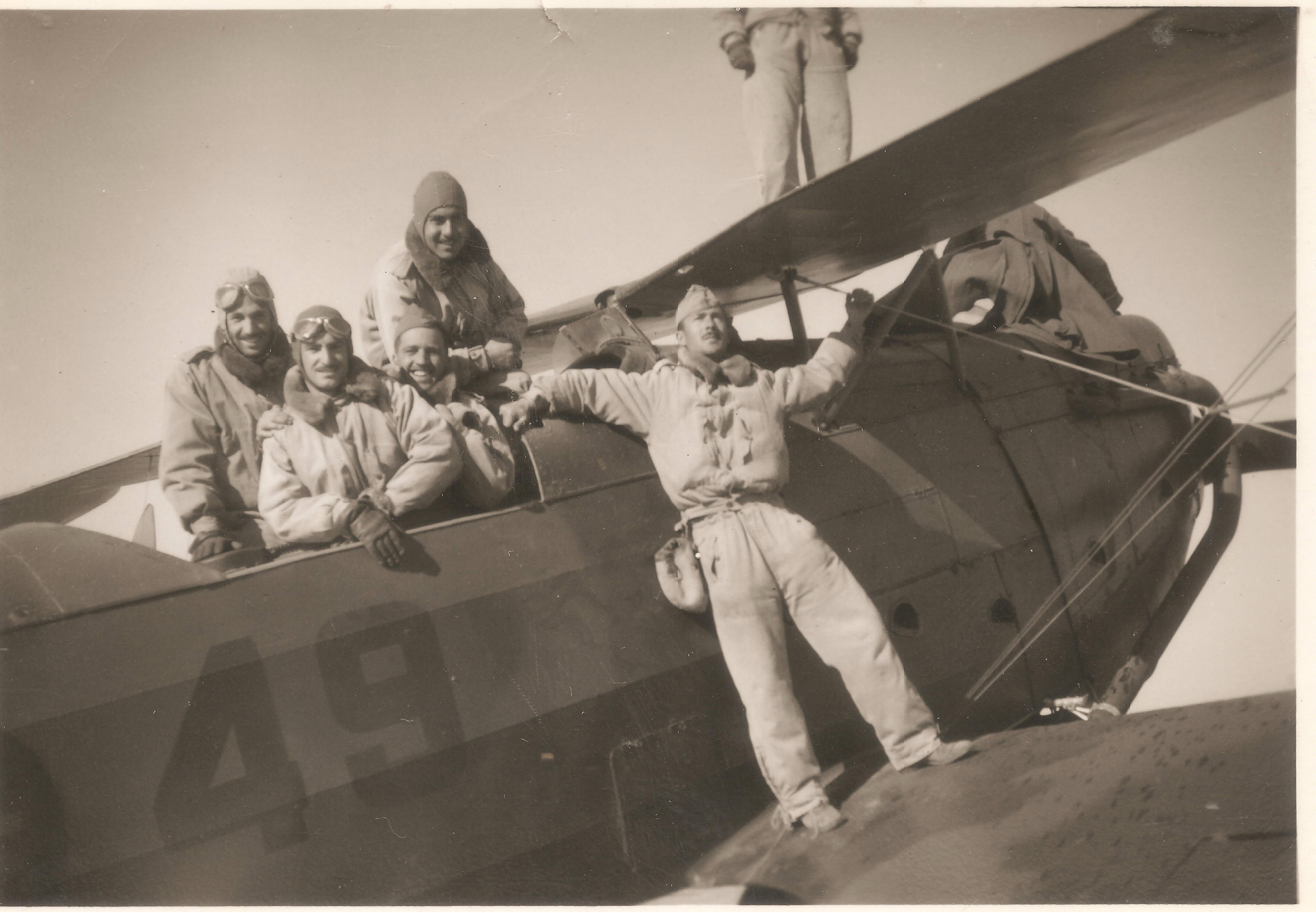 Heinkel HE 45 ,Spain | nationalist ac | Granada spain, Spain