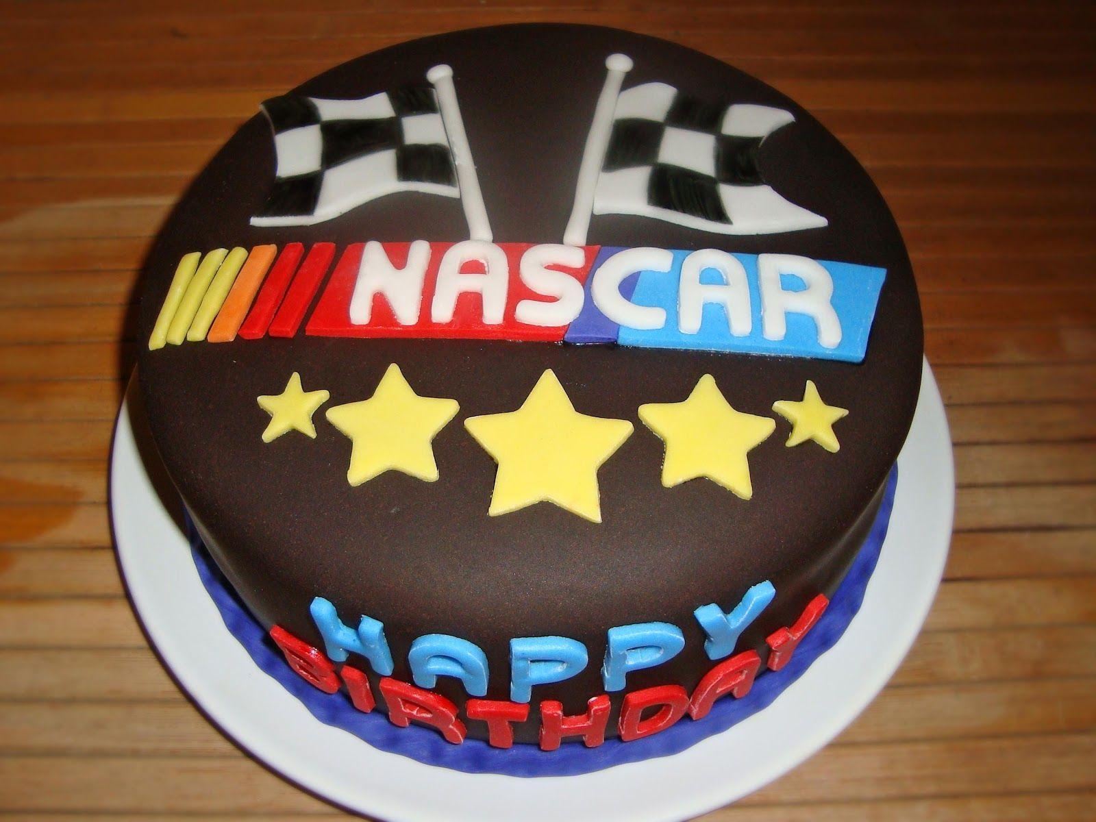 Amazing Nascar Birthday Cake Cake Happy Birthday Cakes Nascar Cake Personalised Birthday Cards Cominlily Jamesorg