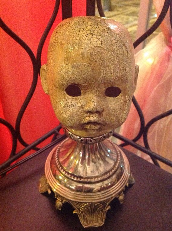 Attractive Creepy Doll Head Lamp By CreepyAssDolls On Etsy