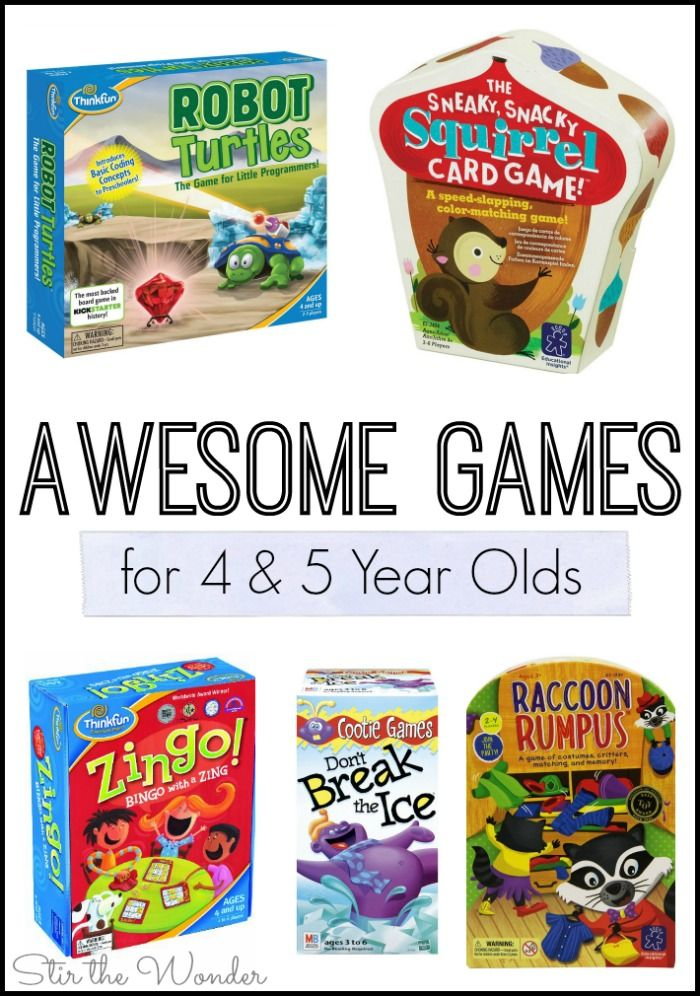Awesome Games for 4 and 5 Year Olds Old board games, 5