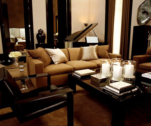 f0325e168d Ralph Lauren Home Penthouse Modern New York City Style | Decor ...