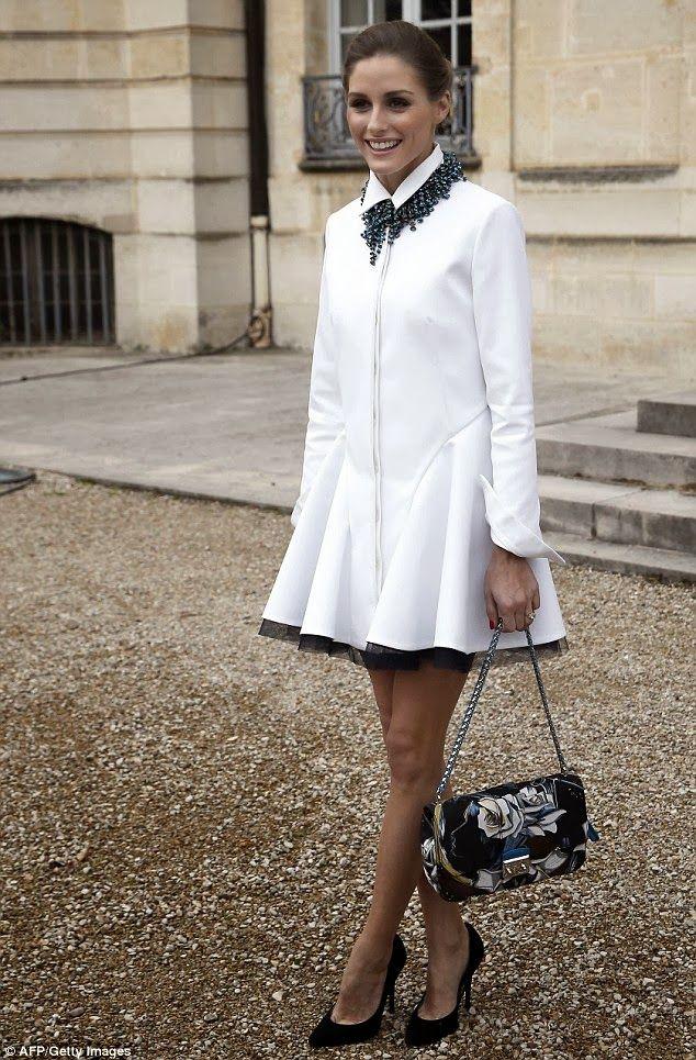 THE OLIVIA PALERMO LOOKBOOK By Marta Martins: Paris Fashion Week 2014 : Olivia Palermo At Dior