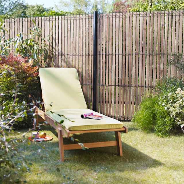 lames d 39 occultation pour grillage soud bois castorama garden fencing pinterest jardins. Black Bedroom Furniture Sets. Home Design Ideas