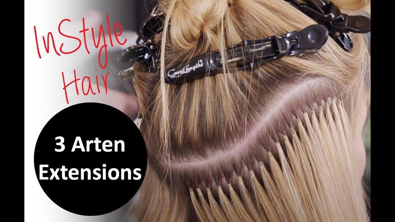 Extensions: InStyle testet 3 Arten der Haarverlängerung ...