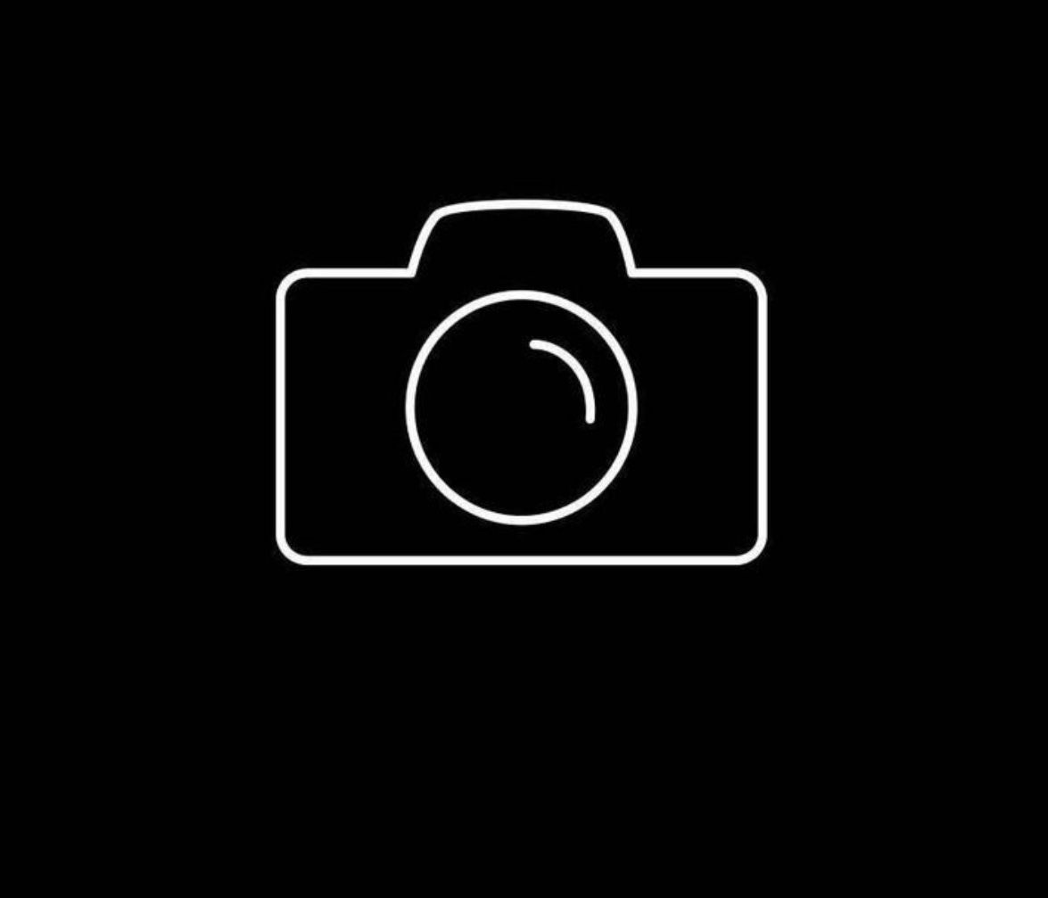 Black And White Camera App Icon App Icon White Camera Black App