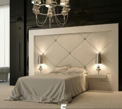 Awesome giant headboard!