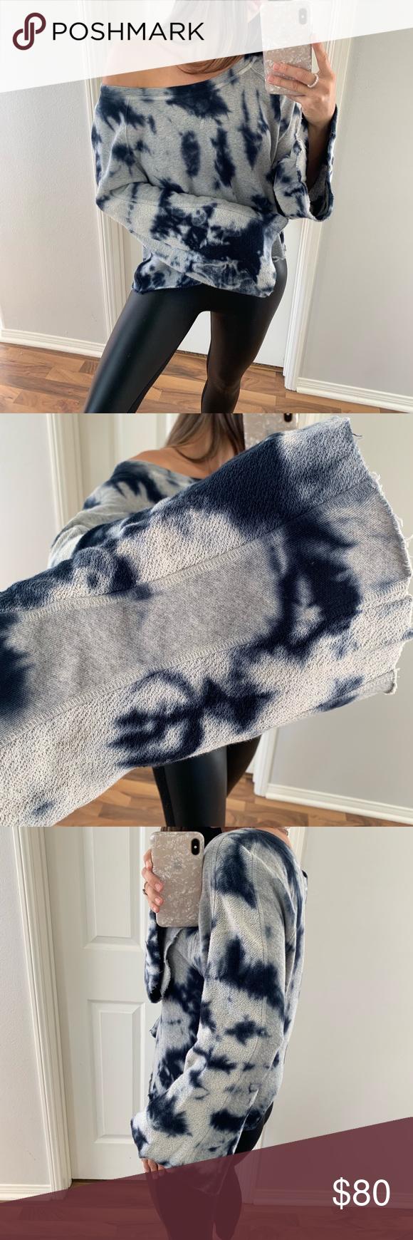 Sold Splendid Tie Dye Blue Grey Sweatshirt Blue Grey Sweatshirts Grey Sweatshirt [ 1740 x 580 Pixel ]