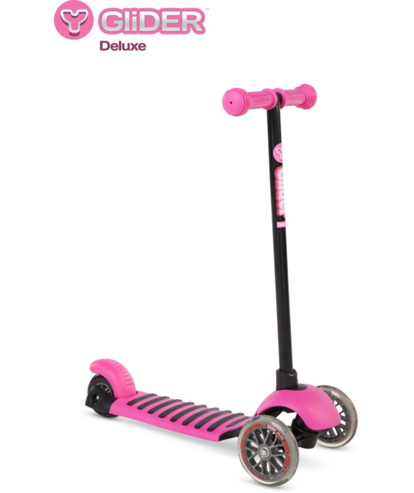 Buy Yvolution Y Glider Deluxe Scooter Pink At Argos Co Uk Your