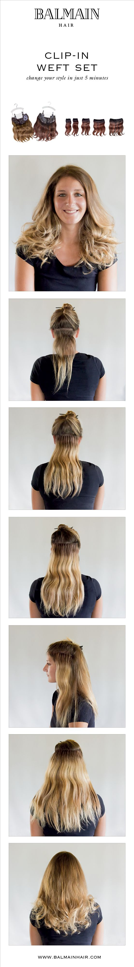 Incredible Look Full And Luscious Hair Created With The Clip In