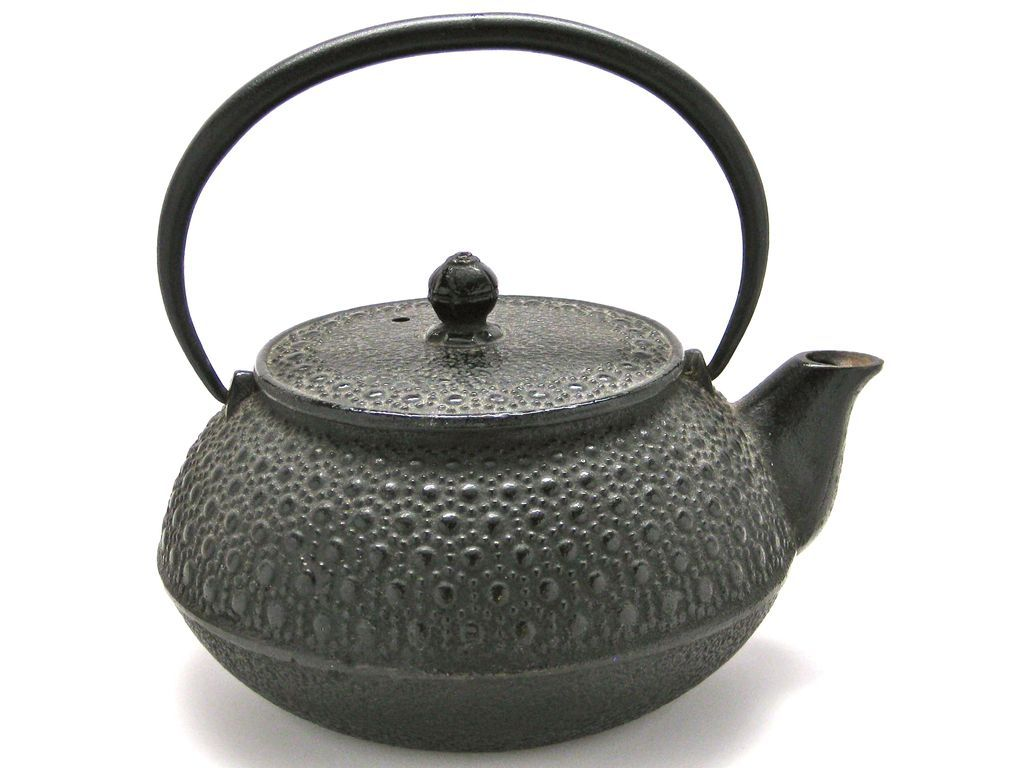 vintage japanese tetsubin cast iron tea kettle  kettle cast iron  - vintage japanese tetsubin cast iron tea kettle