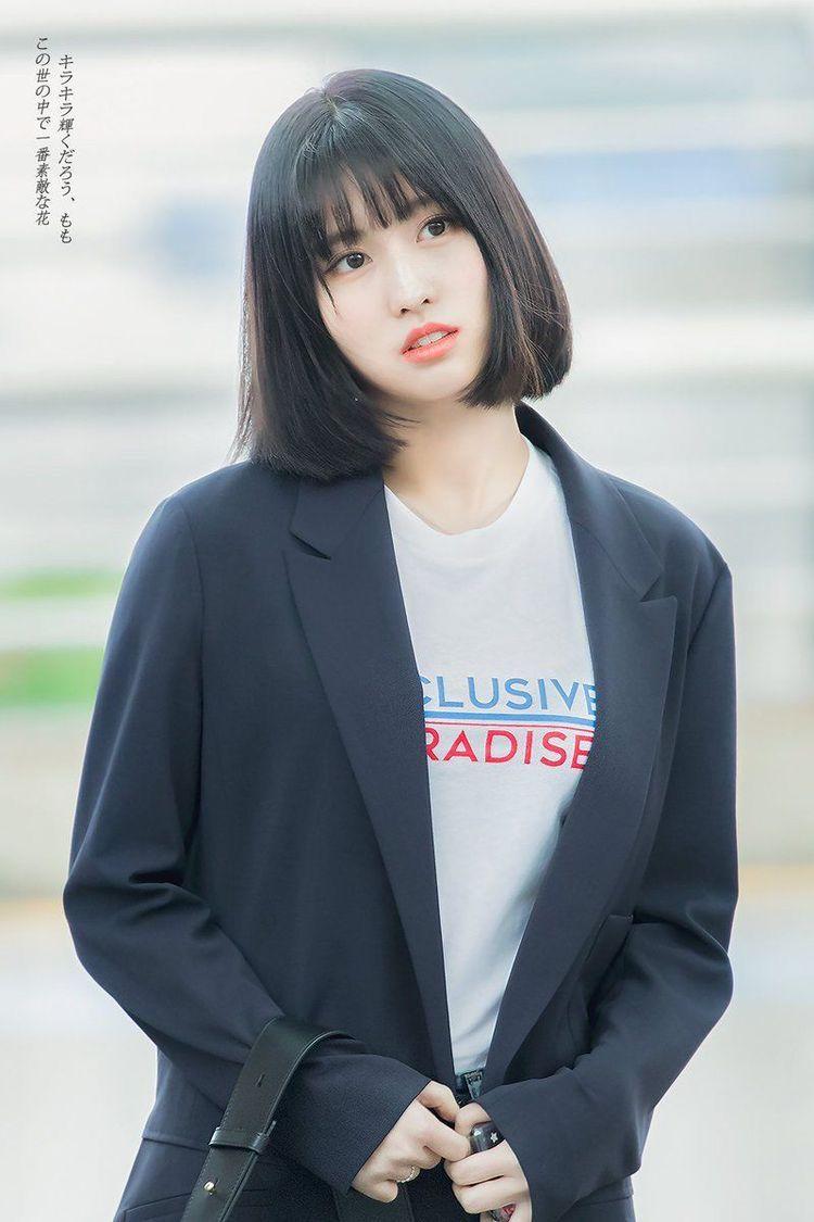 Momo Momo Short Hair Styles Hirai Momo
