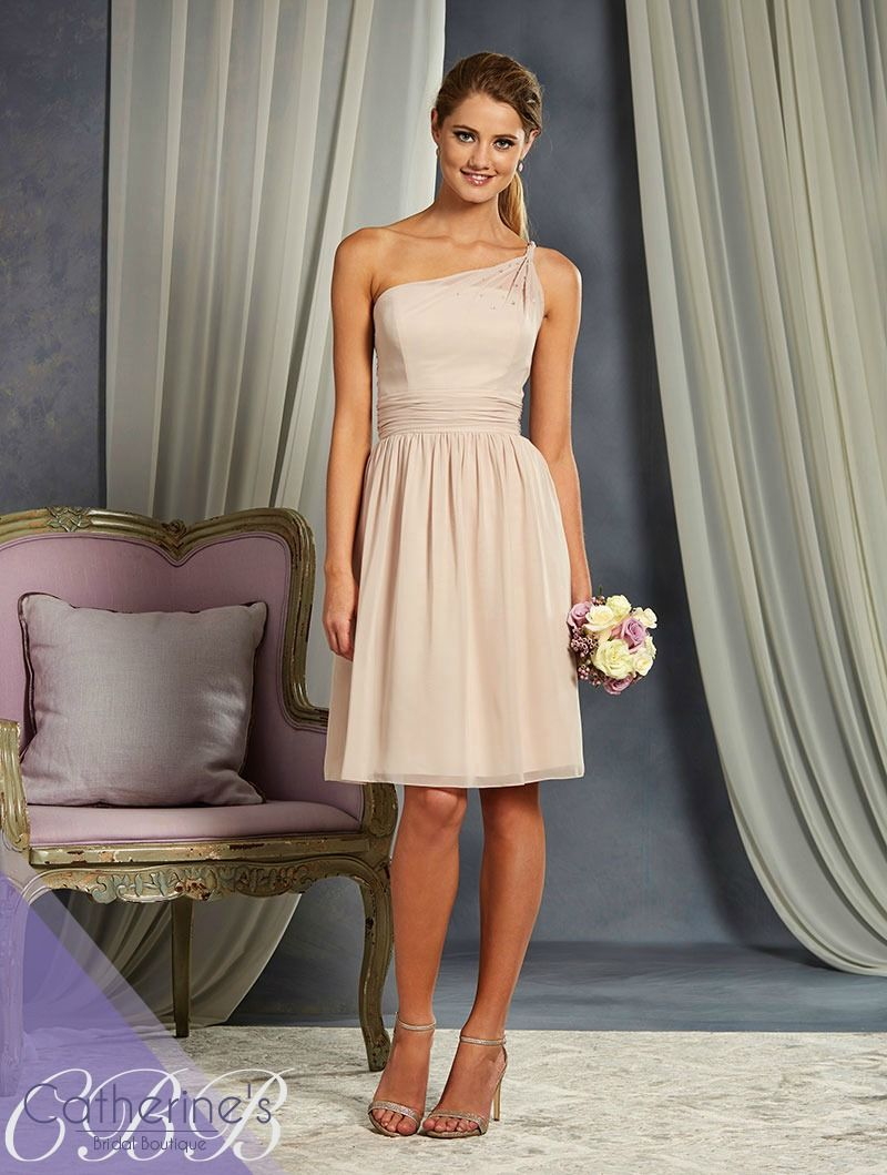Alfred angelo style 7327s bridesmaid dresses pinterest bridal alfred angelo bridesmaids this romantic one shoulder gown is adorned with a twisted strap accented with scattered beading the fully gathered skirt is ombrellifo Gallery
