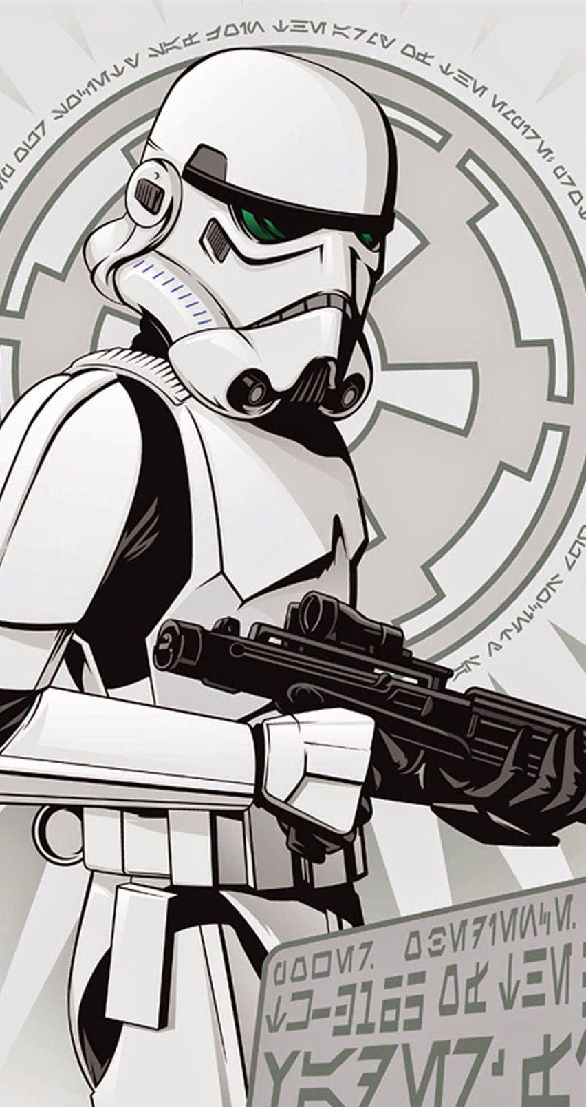 Storm Trooper Star Wars Artwork Star Wars Awesome Star Wars Poster