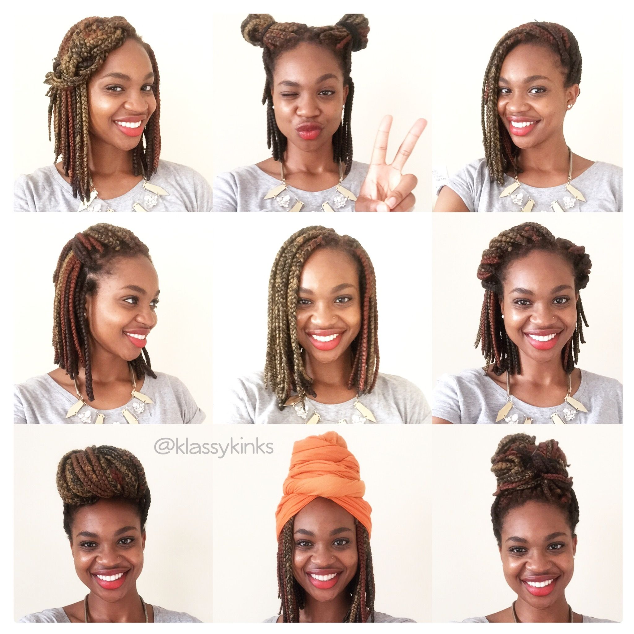Lots Of Bob Box Braid Hairstyles To Inspire You To Rock The