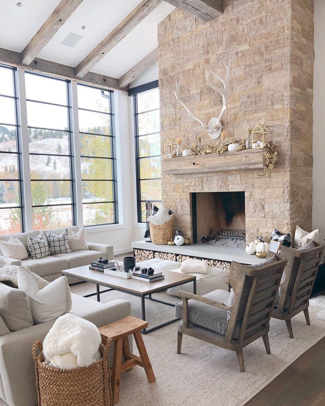 """#LTKhome on Instagram: """"Modern farmhouse living room inspo ..."""