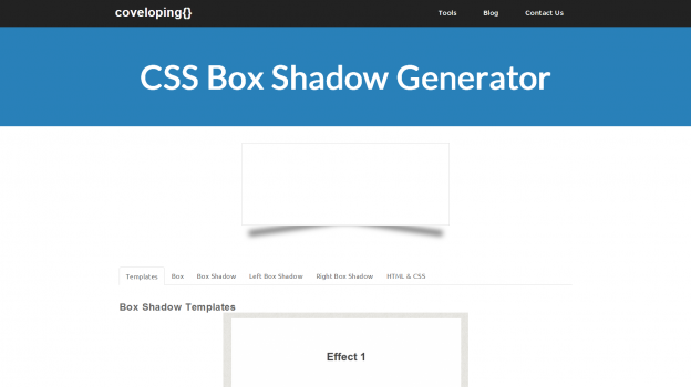 CSS Box Shadow Generator | Web Design and Development | Web