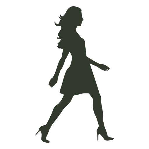 Pin By Fashionmate On Ders Walking Poses Silhouette Dress Silhouette