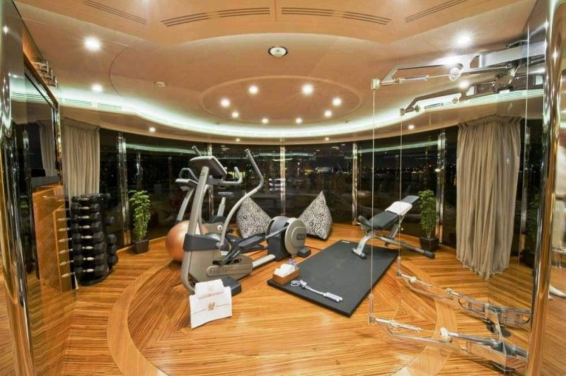 Outrageous Home Gym Designs | Home Gym Design Trends & Equipment ...