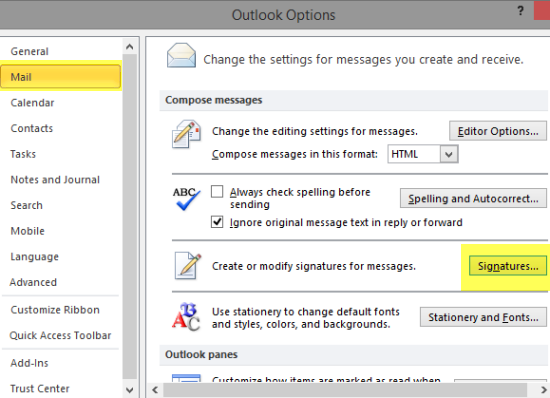 How To Backup Outlook Signatures And Restore It Later Outlook Signature Outlook Backup