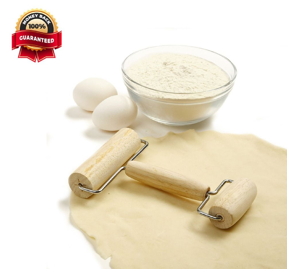 Wooden Pastry Rolling Pin Pizza Dough Roller Double Sided Baking Kitchen Tool Norpro Pizza Dough Roller Pastry Baking