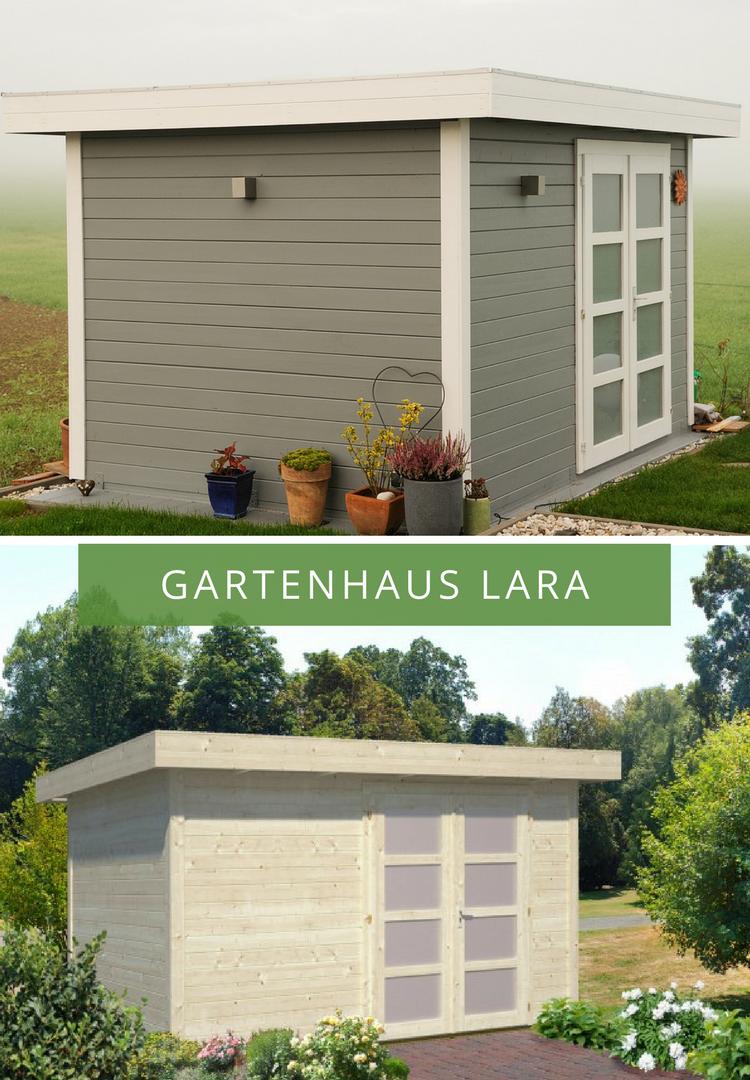 Palmako Gartenhaus Lara 8 4 M Frb28 3524 Gartenhaus Gartenhaus Modern Garten