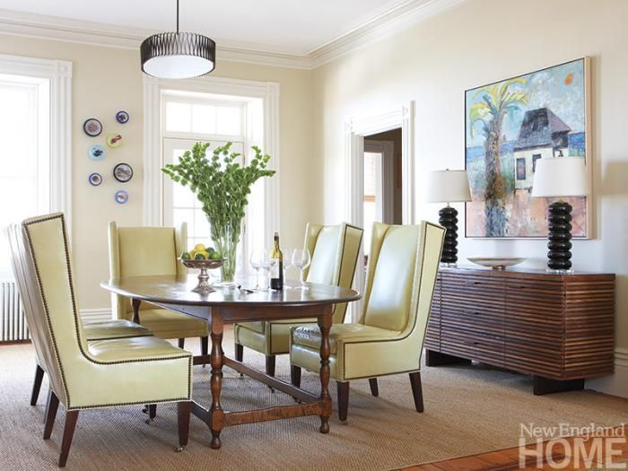 An Act of Faith | Pinterest | Modern interiors, Dining area and Room