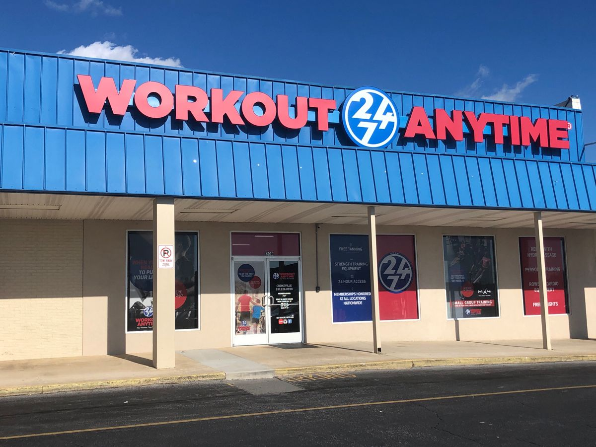 Cookeville Tennessee Anytime Fitness High Intensity Interval Training Workout