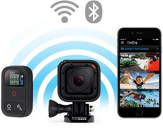 Wifi Bluetooth Gopro Hero 4 Session Https Www Glisshop Com Gopro Camera Technologie
