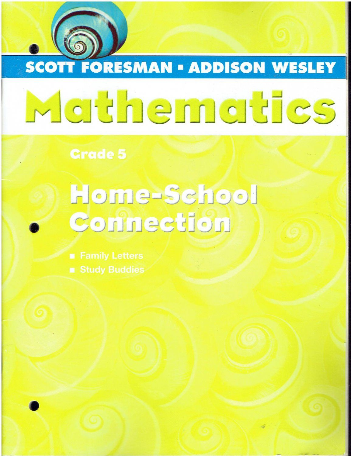 Scott Foresman Addison Wesley Mathematics Grade 5 Home