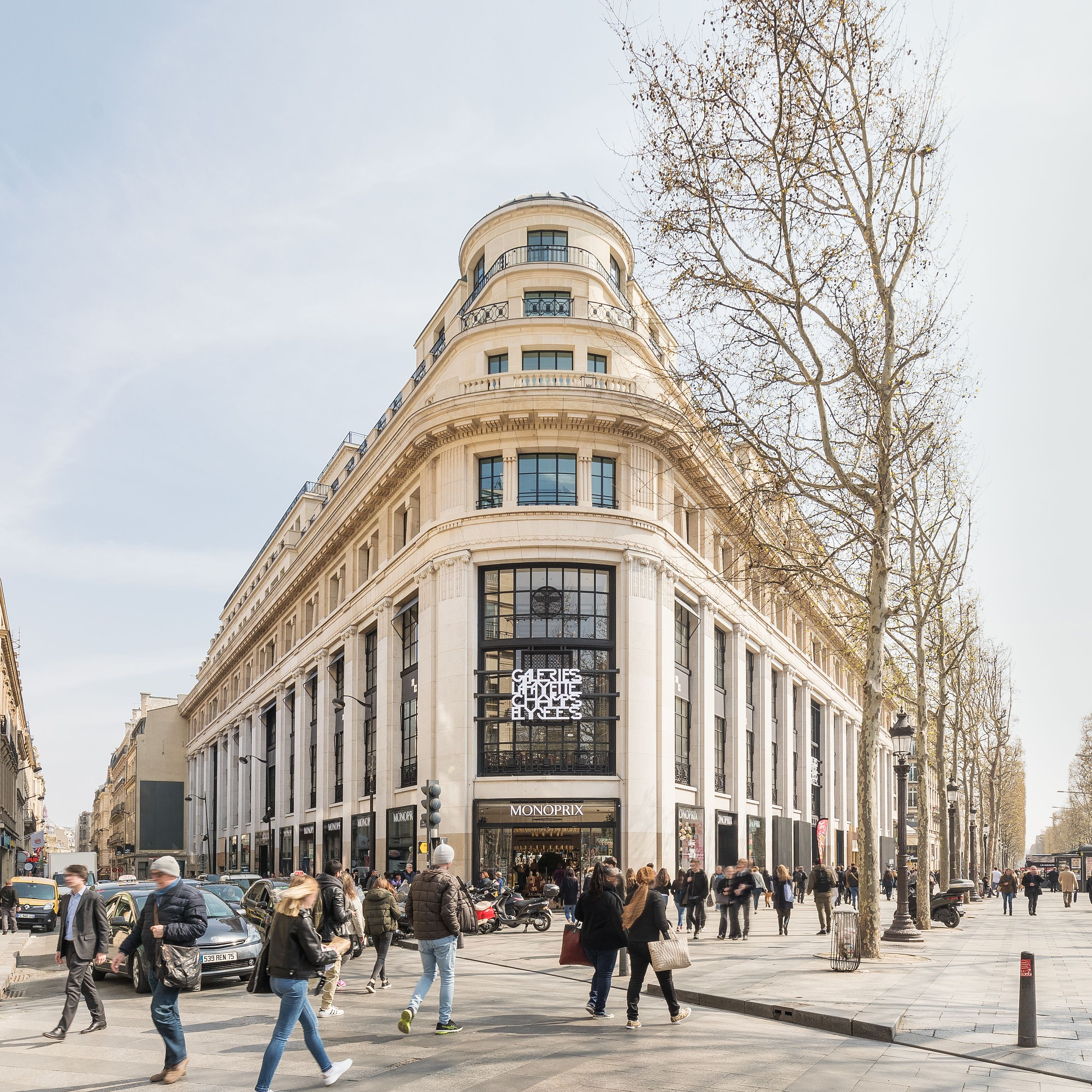 Galeries Lafayette Flagship On Champs Elysees Picture Gallery Lafayette Paris Galeries Lafayette Champs Elysees