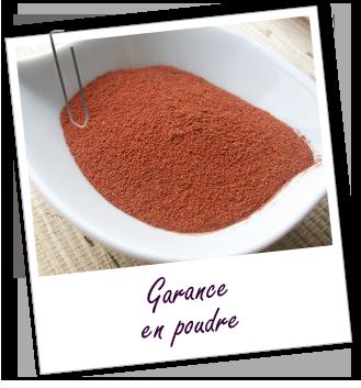 foto de Colorant végétal Garance en poudre 0 Soins Garance
