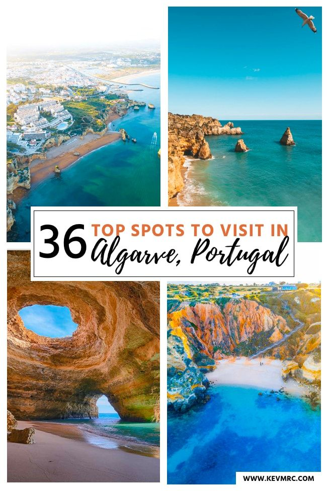 36 BEST places to Visit in Algarve Portugal + free map included!