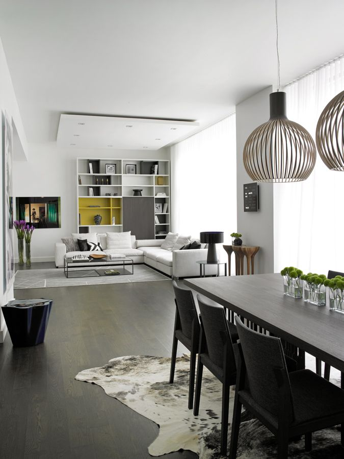Contemporary Living Room Designs: Modern Interior Design By Noha Hassan From New York