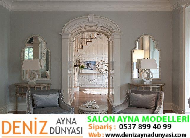 Pindeniz Ayna Dünyası On Salon Ayna Modelleri  Deniz Ayna Best Classic Living Room Designs Design Ideas